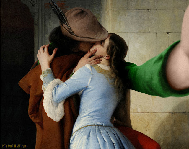 The Kiss - Francesco Hayez, 1859
