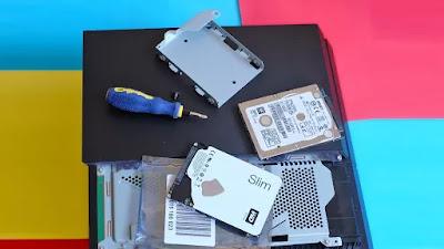 Cara meningkatkan hard drive PS4, PS4 Slim, dan PS4 Pro