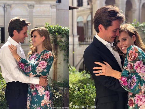 Księżniczka Beatrice i Edoardo Mapelli Mozzi zaręczyli się!