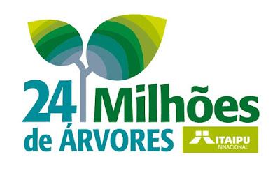 Marca histórica: Itaipu comemora o plantio de 24 milhões de árvores