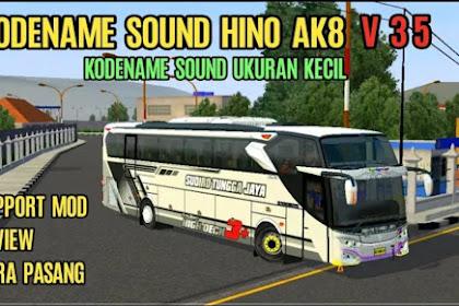 Kode Name Sound Hino AK8 BUSSID 3.5