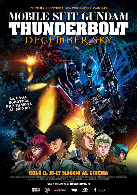 Mobile Suit Gundam Thunderbolt December Sky recensione poster