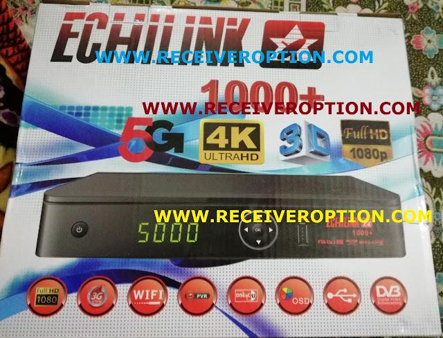ECHILINK 1000+ HD RECEIVER FLASH FILE