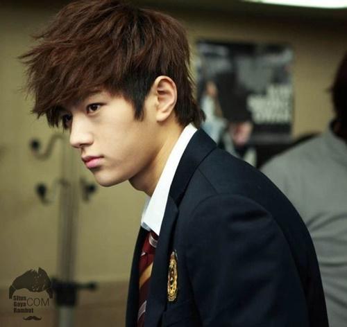 gaya rambut korea pria