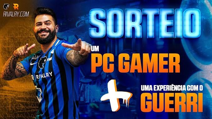 Sorteio PC Gamer + Bate Papo com Guerri + Uniforme oficial da Furia
