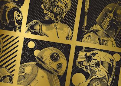 Star Wars Mind Tricks Series 2 Mini Portrait Screen Prints by Joshua Budich x Spoke Art