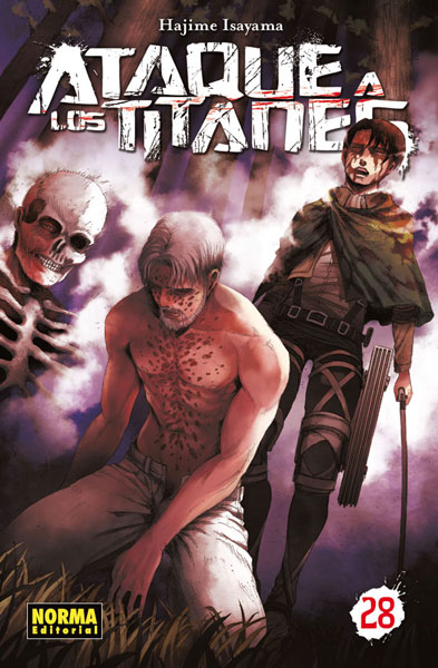 Reseña de Ataque a los Titanes vol.28 de Hajime Isayama - Norma Editorial