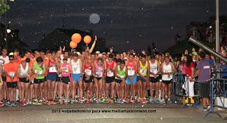 Media Maraton Nocturna Ponferrada 21 lunas y media