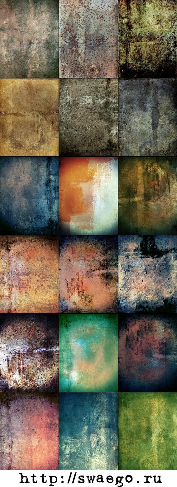 Grunge текстуры для Фотошопа