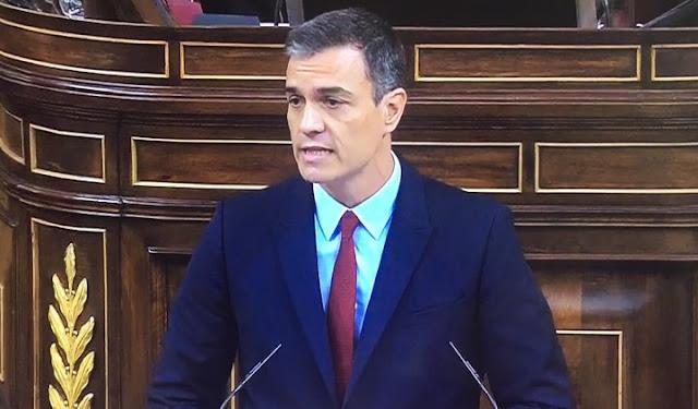 Sánchez basa su intervención en seis ejes fundamentales para una gran mayoría social