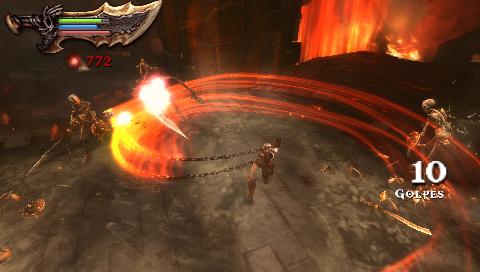 God Of War: Ghost Of Sparta (EUR) PSP ISO Screenshots #2