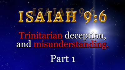 Why do Trinitarians use ISAIAH 9:6, to PROVE the Trinity, when ISAIAH 9:6, DISPROVES the Trinity?