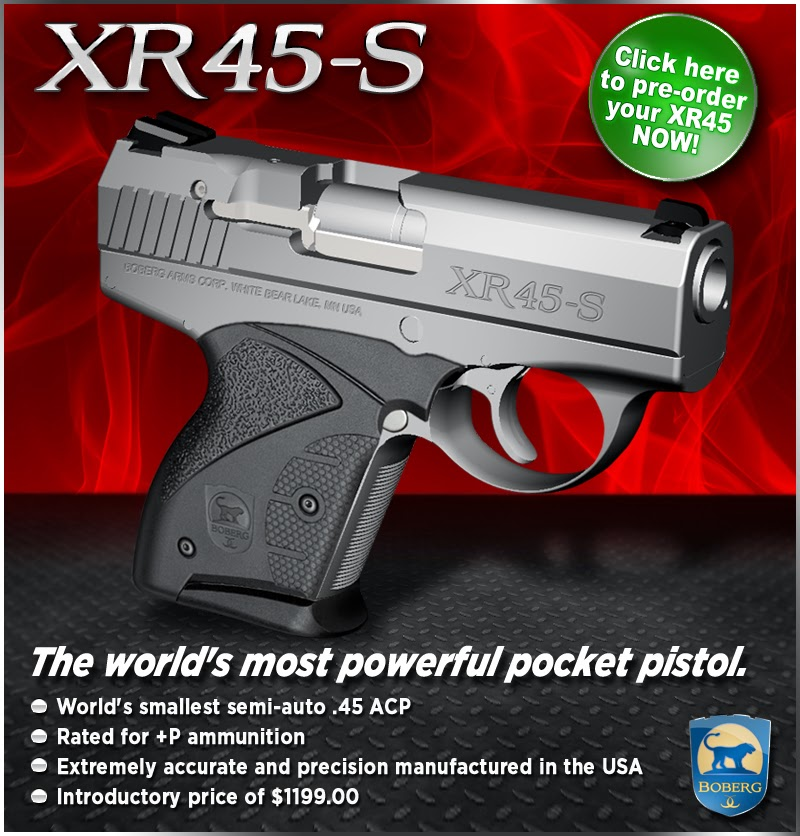 Pocket Guns and Gear: Boberg XR45-S Now Available for Pre-order