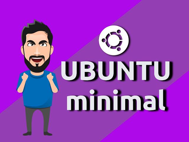 Como instalar o Ubuntu Minimal