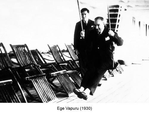 Atatürk Ege Vapuru 1930 Fotoğraf
