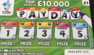 £1 Pay Day Scratchcard