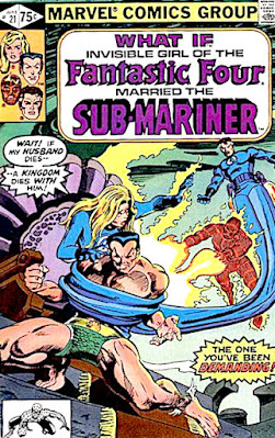 What If #21, Sue Storm had married the Sub-Mariner