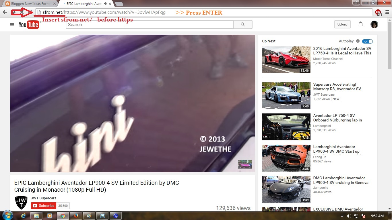Download or convert Youtube videos, Dailymotion and other ...