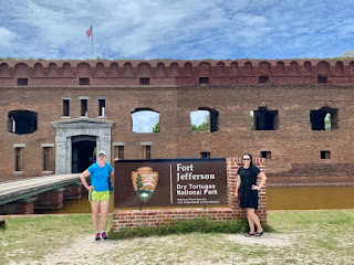 Dry Tortugas National Park Sign