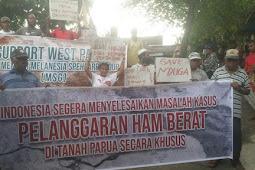Dikawal Ketat, Rakyat Papua Peringati Hari HAM di Manokwari