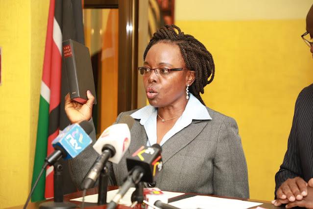 Controller of Budget Ms Margaret Nyakang'o photo