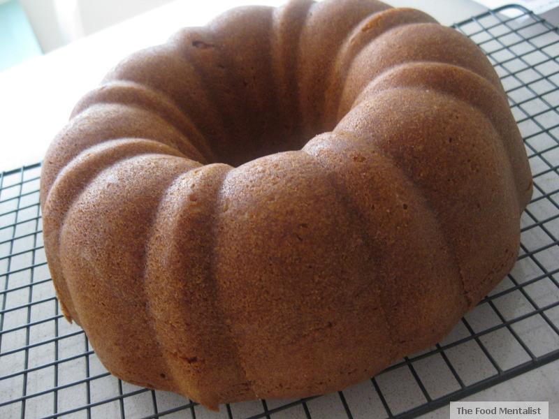 Lemon Rum Bundt Cake