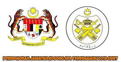 Permohonan Jawatan Kosong SPA Terengganu 2018 SPNT