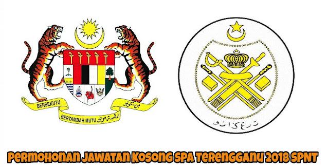 Permohonan Jawatan Kosong SPA Terengganu 2021 Online (SPNT)