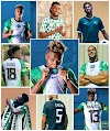 Super Eagles to Wear New Agbada Jersey Versus Tunisia