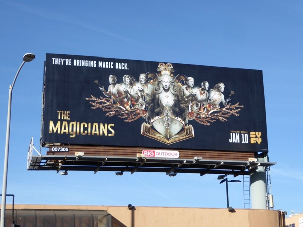 Magicians season 3 syfy billboard