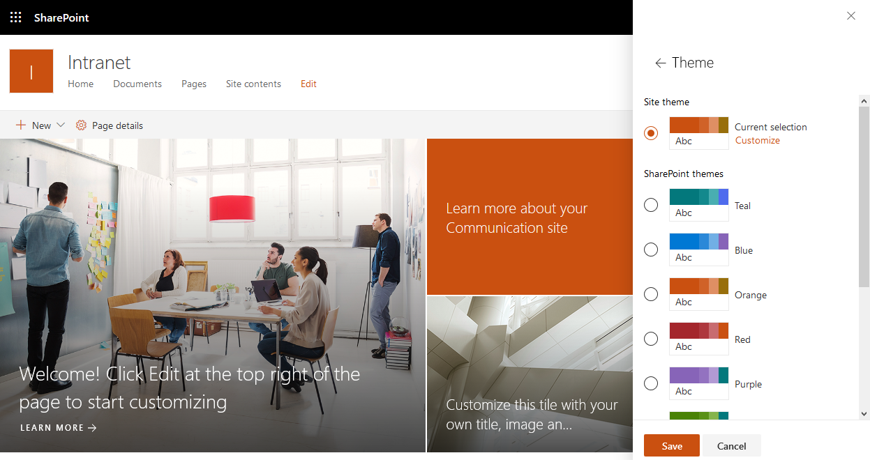 set theme in sharepoint online using pnp provisioning template