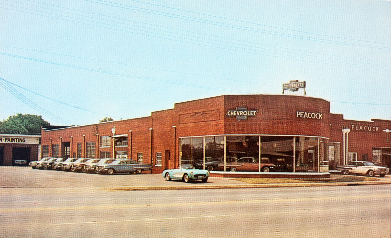 IMAGES OF OUR PAST - PEACOCK CHEVROLET, EAST JACKSON ...