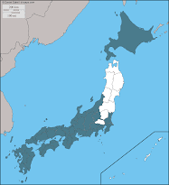 38 prefectures visited, 9 more to go