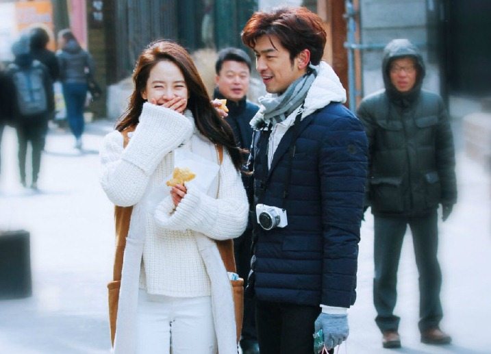 Song Ji Hyo and Chen Bolin | We are In Love @ We Got
