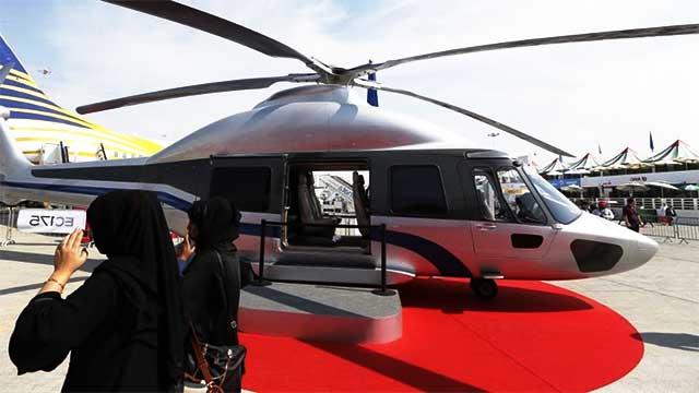 أبوظبي: حادث مروع  جراء سقوط طائرة إسعاف
