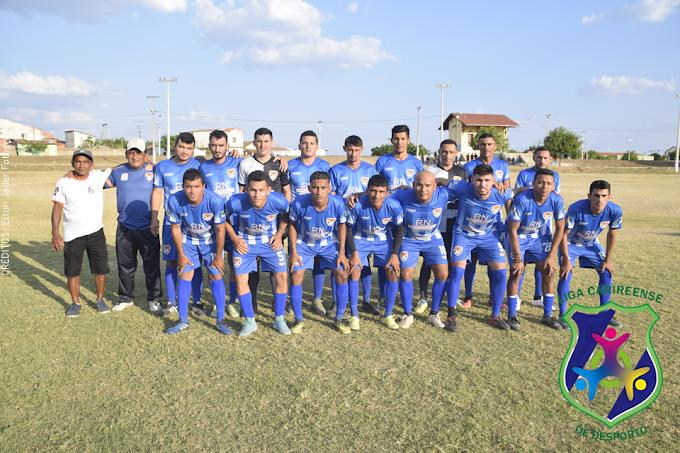 Seleção de Cariré X Seleção de Alcântaras realizaram partida amistosa na volta aos jogos no pós-pandemia