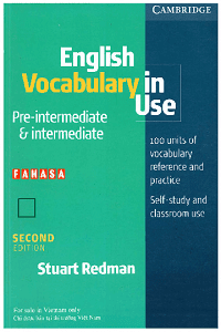 Cambridge English Vocabulary In Use Pre-Intermediate And Intermediate 2Nd Edition - Stuart Redman