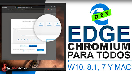Descargar Edge Chromium para Windows 10, 8.1, 7 y macOS