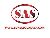 Lowongan Kerja Karanganyar dan Cirebon Bulan Juni 2021 di PT SAS Group