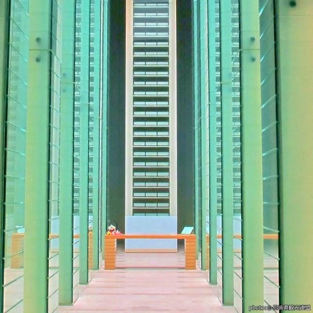 【國立長崎原爆罹難者追悼和平祈念館】光與水交會的殿堂 追悼18萬原爆罹難者