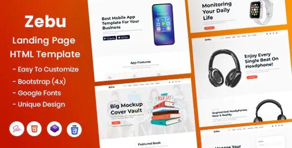 Best Multipurpose Landing Page HTML Template