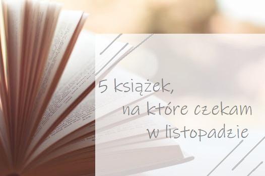 5 książek, na które czekam w listopadzie