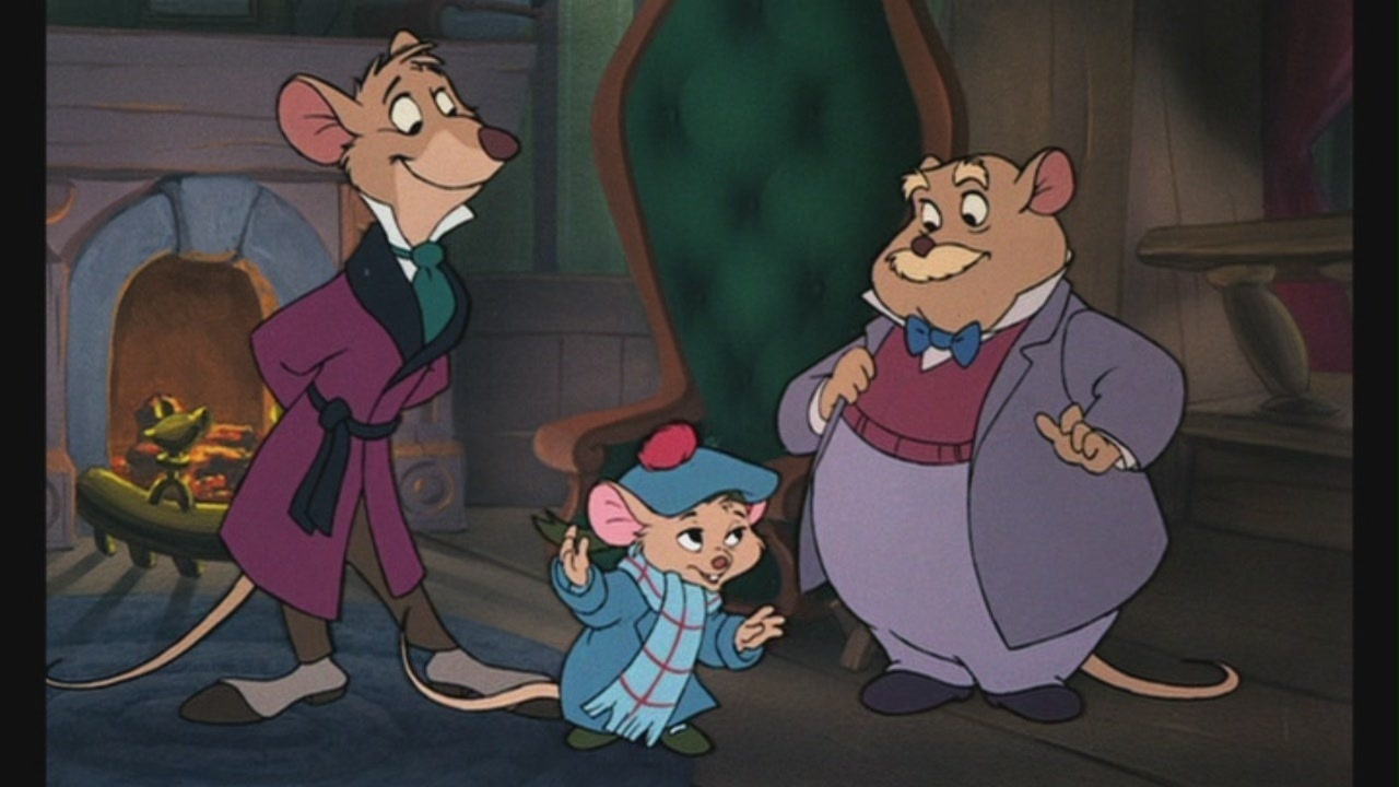 Disney'-s The Great Mouse Detective (1986)