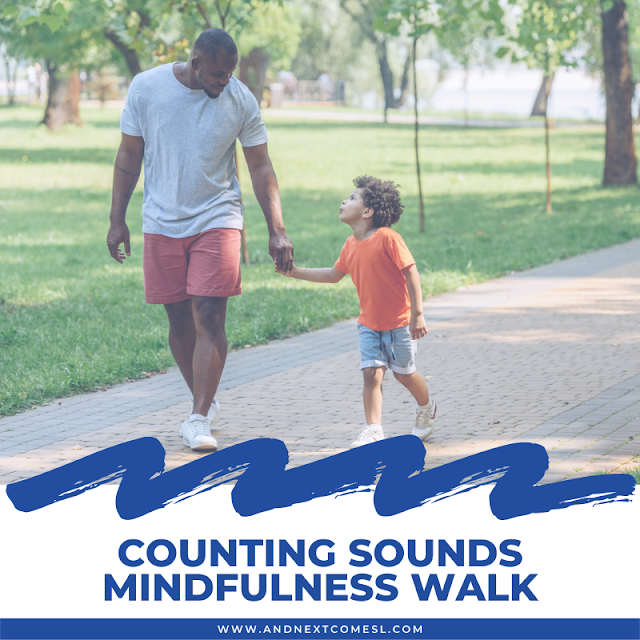 Counting sounds mindfulness walk