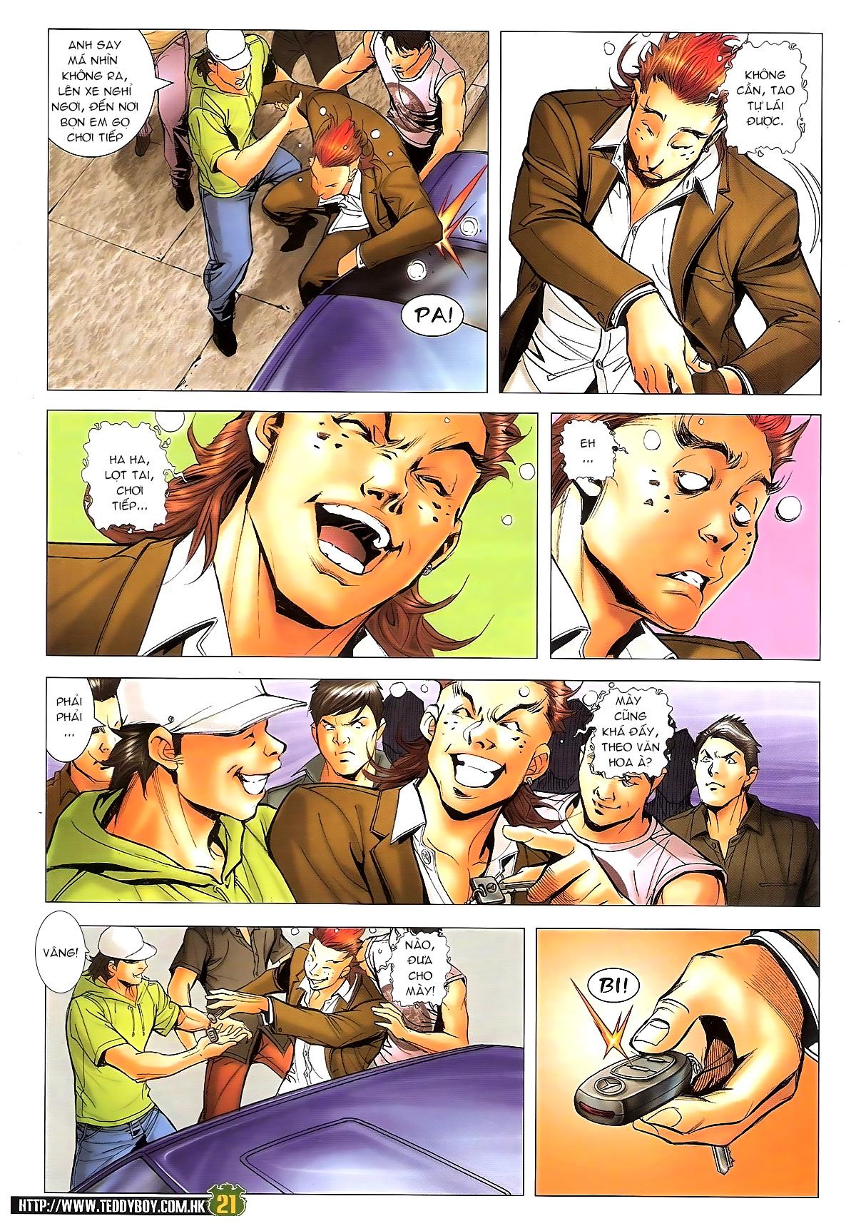 Người Trong Giang Hồ chapter 1646: đại hạn lâm đầu trang 17