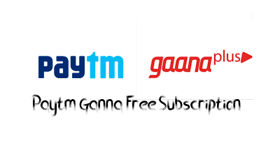 Paytm offers a free 3-month ganna plus subscription