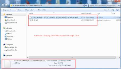 Firmware Samsung GT-B5330 Indonesia Google Drive