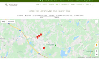 Little Free Library locations in Franklin, MA (as of 3/14/20 noon)