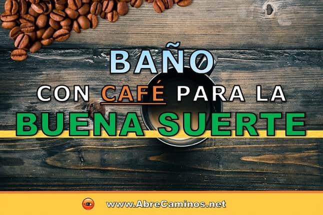 Baño de Café Sal Azúcar para la Buena Suerte y encontrar Trabajo