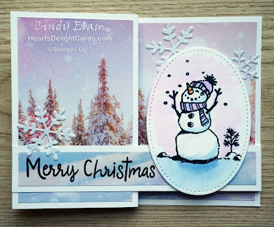Heart's Delight Cards, Snowman Season, Feels Like Frost, Tour de Freaks, Stampin' Up! Holiday 2019